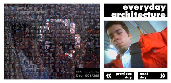 Screenshot Everyday Architecture - 001/365