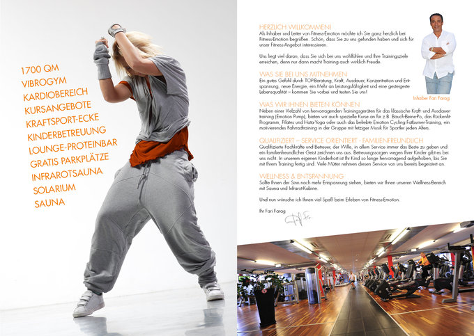 Fitness Emotion Imagemagazin Seite 2-3