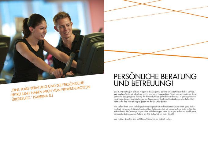 Fitness Emotion Imagemagazin Seite 6-7