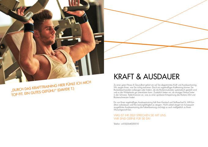 Fitness Emotion Imagemagazin Seite 8-9