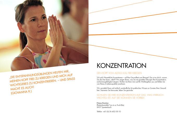 Fitness Emotion Imagemagazin Seite 10-11
