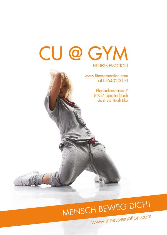 Fitness Emotion Imagemagazin Rückseite