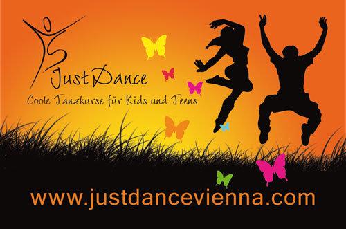 Just Dance Visitenkarte Rückseite