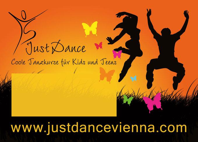 Just Dance Flyer Rückseite