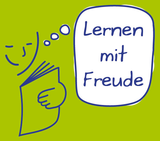 Lernen mit Freude Logo Grün