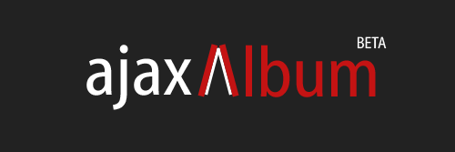 Logo ajaxAlbum Black