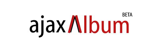 Logo ajaxAlbum White