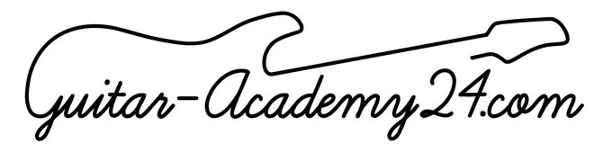 Guitar Academy 24 Logo with Domain Name