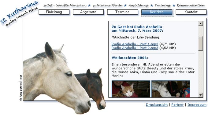 screenshot St. Katharina - Bericht
