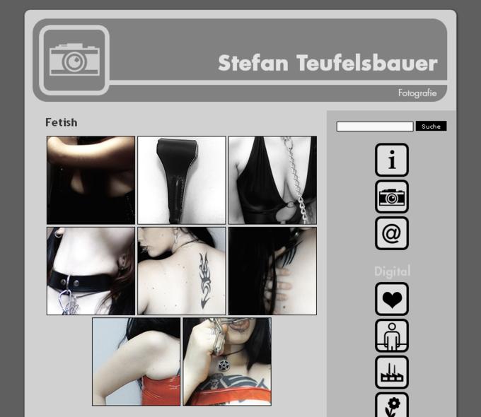 Screenshot Teufelsbauer Website - Kategorie Fetish
