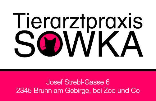 Tierarztpraxis Sowka Visitenkarte Rückseite - Katze